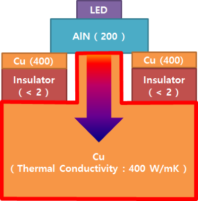 LED Direct on Cu Module